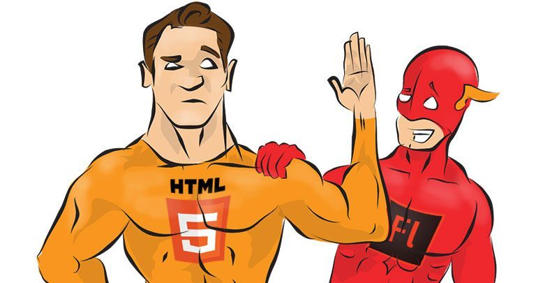 Adobe Flash Player и HTML5
